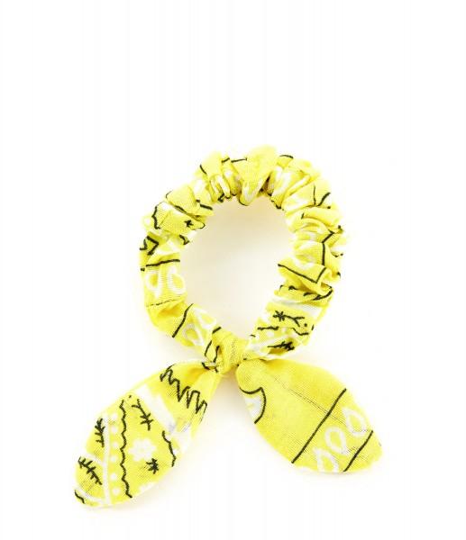 Haargummi Bandana yellow