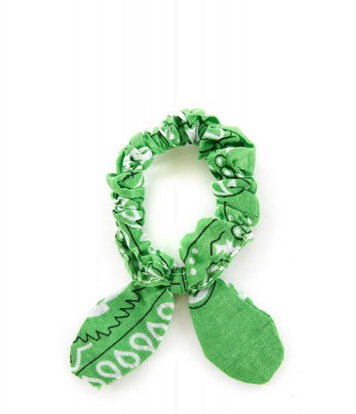 Haargummi Bandana green