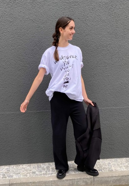 T-Shirt oversized whatever you want