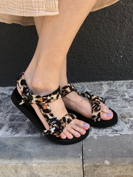 Trekky Sandals Leopard