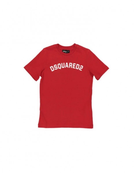 T-Shirt Dsquared2 red