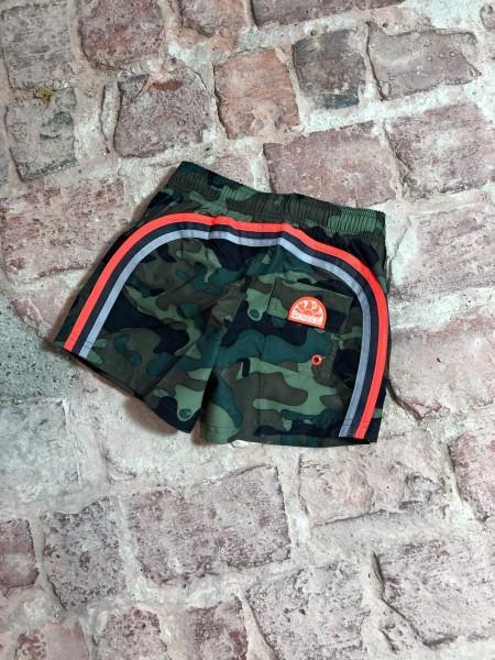 Camouflage Mid Length Boardshorts 9,5
