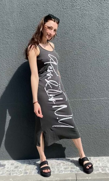 Shirt Dress Pirate black/white