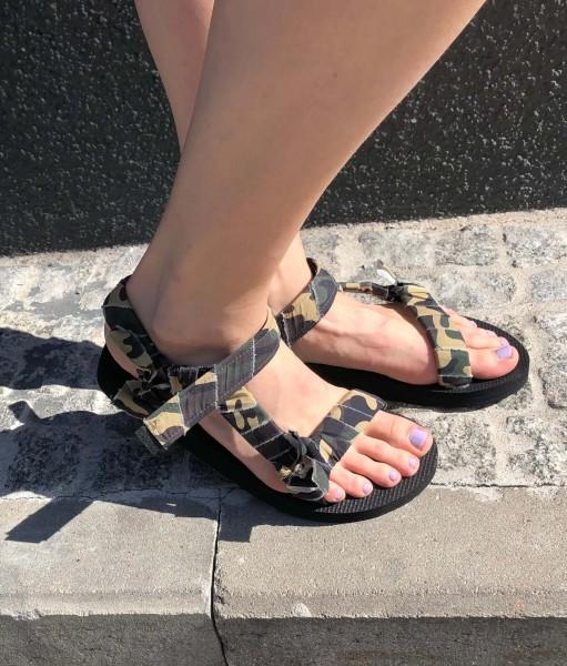 Trekky Sandals Camo