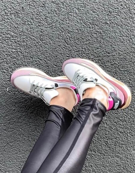 3Dome Amethyst/Black Damen Sneaker
