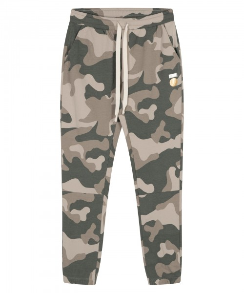 Cropped Jogger Camo grey moss