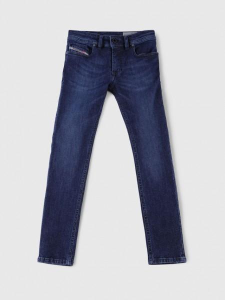 Diesel Sleenker Stretch Slim-Skinny Jeans