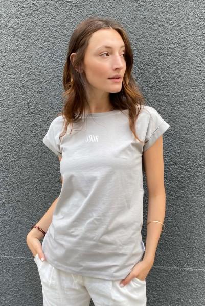 T-Shirt Jour Nuit rock/white