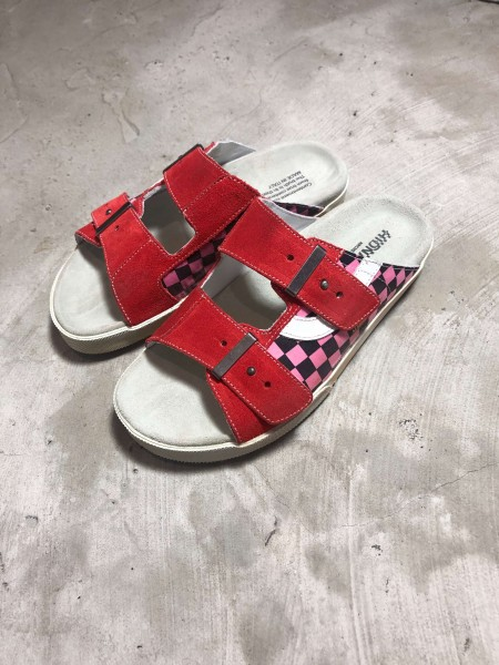 Sundl Check Pink/White