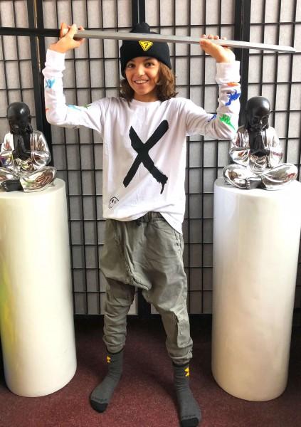 Magoo Drop Shoulder Tee Happy X