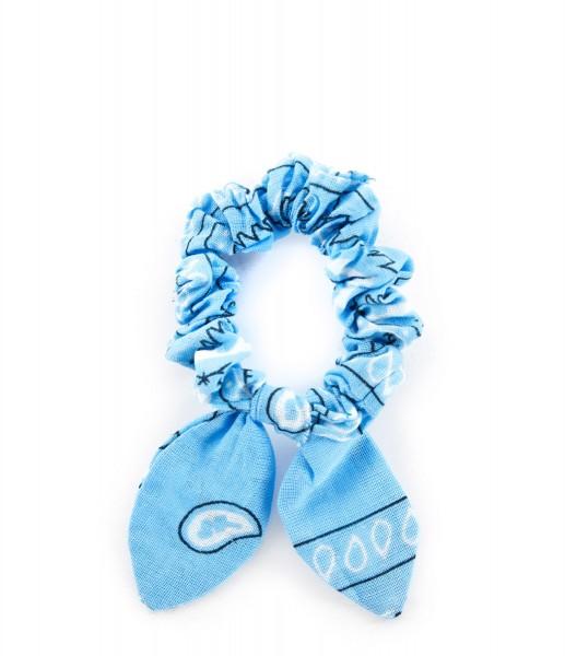 Haargummi Bandana light blue