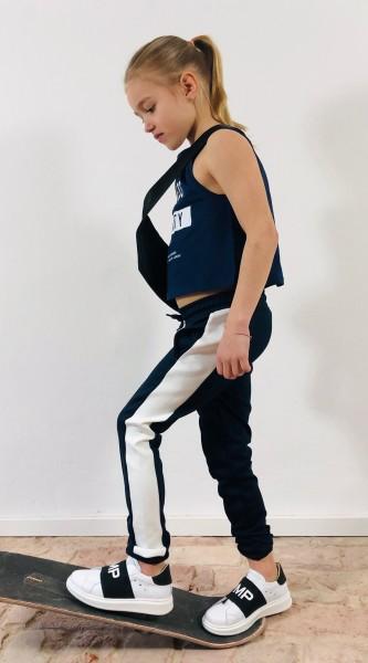 Flo Track Pants dark blue