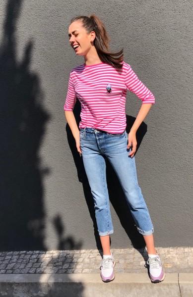 Jolie Candy Stripe pink/white