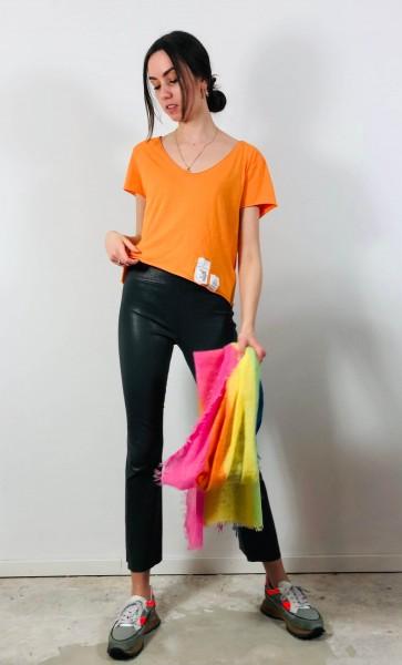Violetta Tags Shirt Arancia