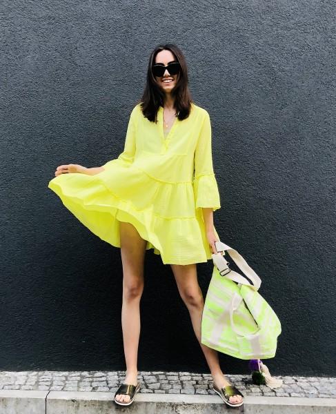 Ella Dress Lime