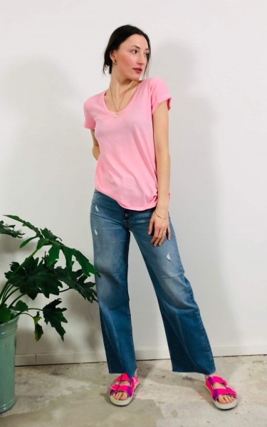 T-Shirt Jersey Bunny Pink