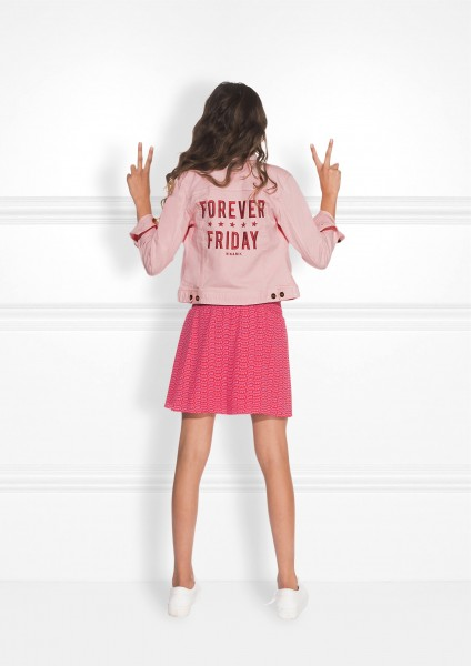Edita Jacket Pink Denim
