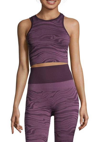 Seamless Melted Top Melted Purple