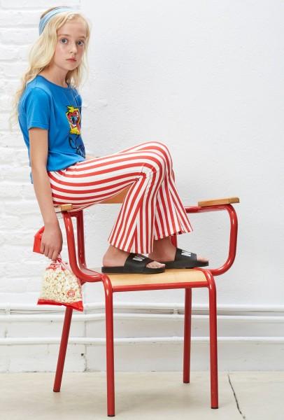 Circus Flare Striped Leggings