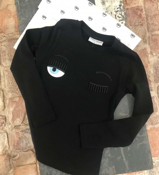 T-Shirt - Kids Flirting Long Sleeve black