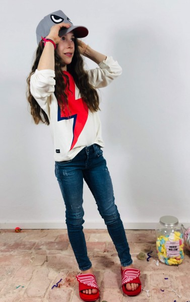 Ray Girl Sweater Off White