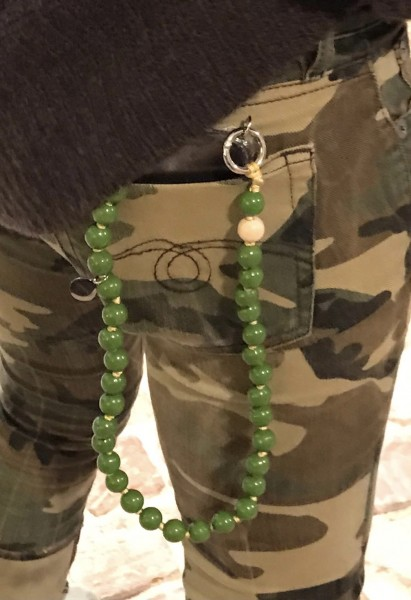 Upbeads Olive Shortie 60cm