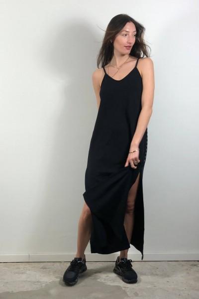 Strappy Dress Fleece black