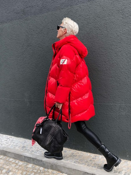Piumino Woman Coat Chilli Red