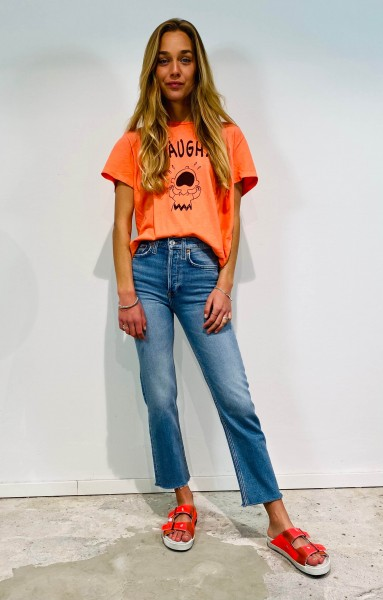 Classic Tee AAUGH Faded Apricot
