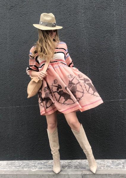 Miami Shortdress pink