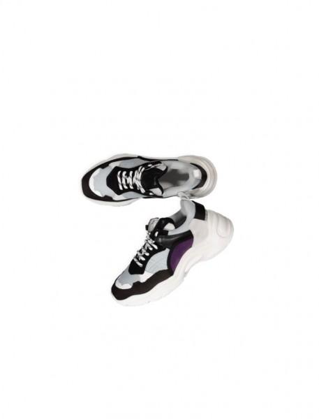 Curve Raw Sneaker Black/White/Lilac