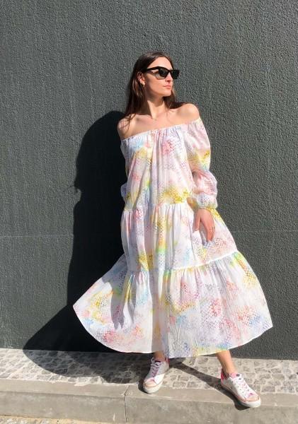 Dress Dorian Rainbow Kufiya