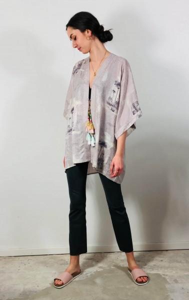 Mauvi Kimono Multi