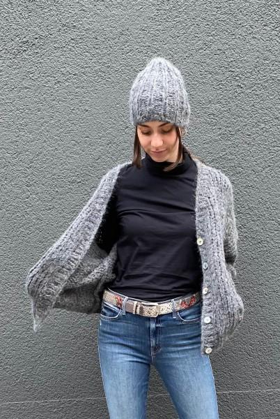 Andia Hat Dark Grey