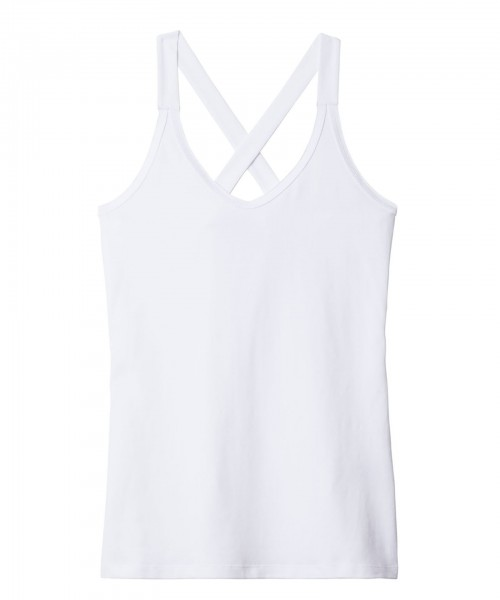 The Wrapper Top white