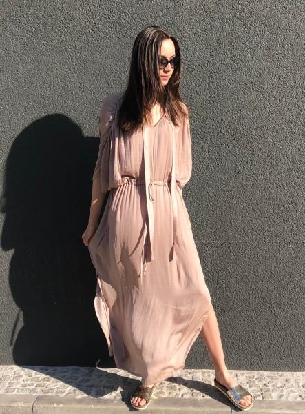 Dalia Dress Viscose gold
