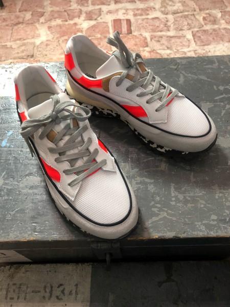 3Dome Fluo Red Marbel Herren Sneaker