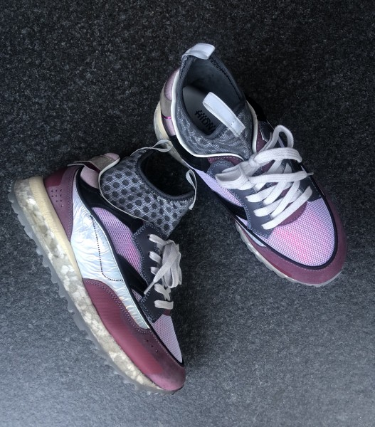 Threedome.Zero High Purple/Taupe Damen Sneaker