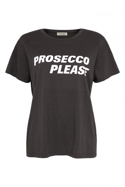 T-Shirt Charly Prosecco charcoal/white