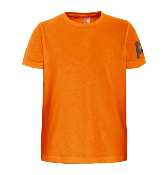 T-Shirt with Lettering carrot