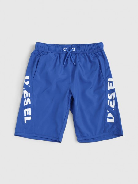 Mbxsea Badeshorts blue