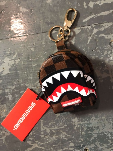 Shark in Paris Key Chain