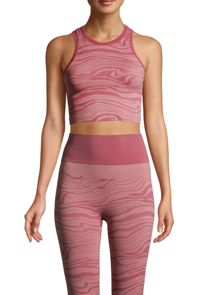 Seamless Melted Top Melted Pink
