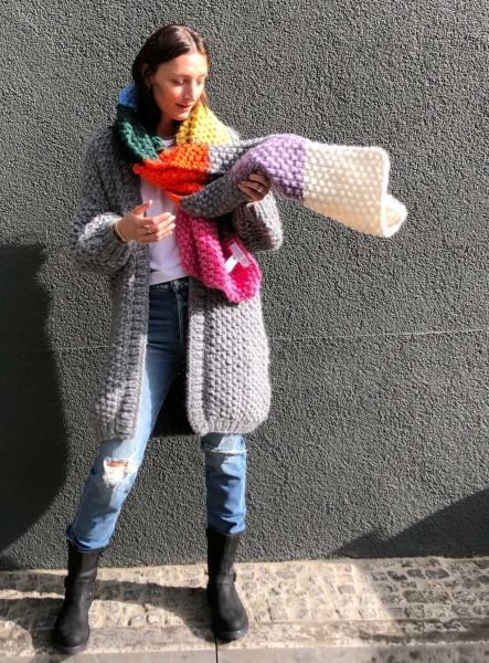 Scarf in Puno Rice Multicolor