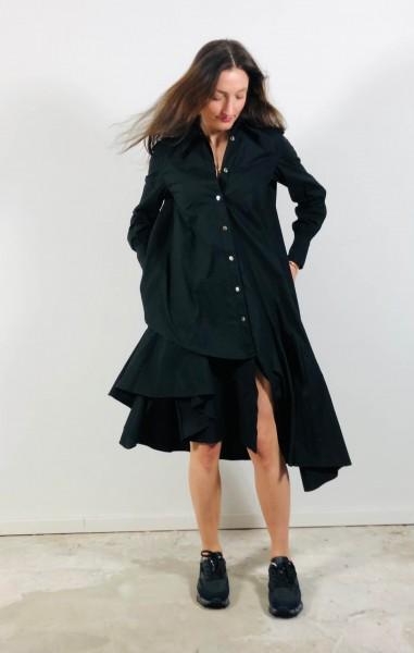 Dress Popleine black