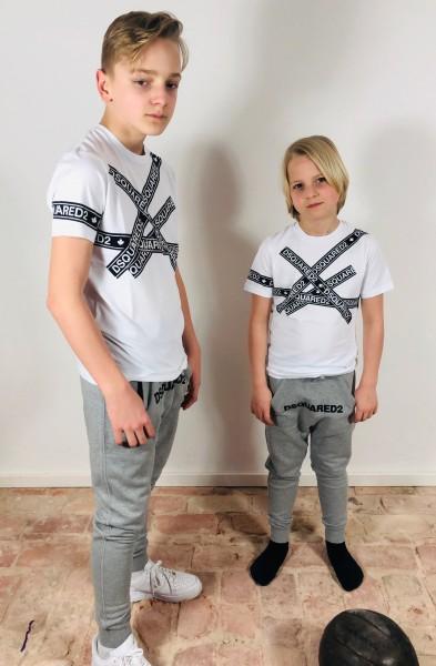 T-Shirt Stripband White