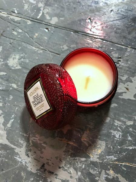 Macaron Candle Goji Tarocco Orange 1,8oz/51g