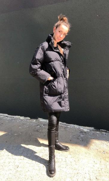 Monde Doudoune oversize Sport Jacket Black