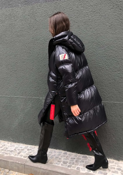 Piumino Woman Coat Black