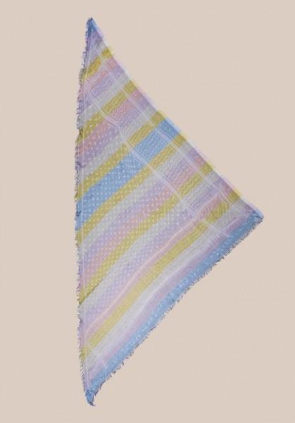 Cotton Triangel Kufiya Stripes Rainbow